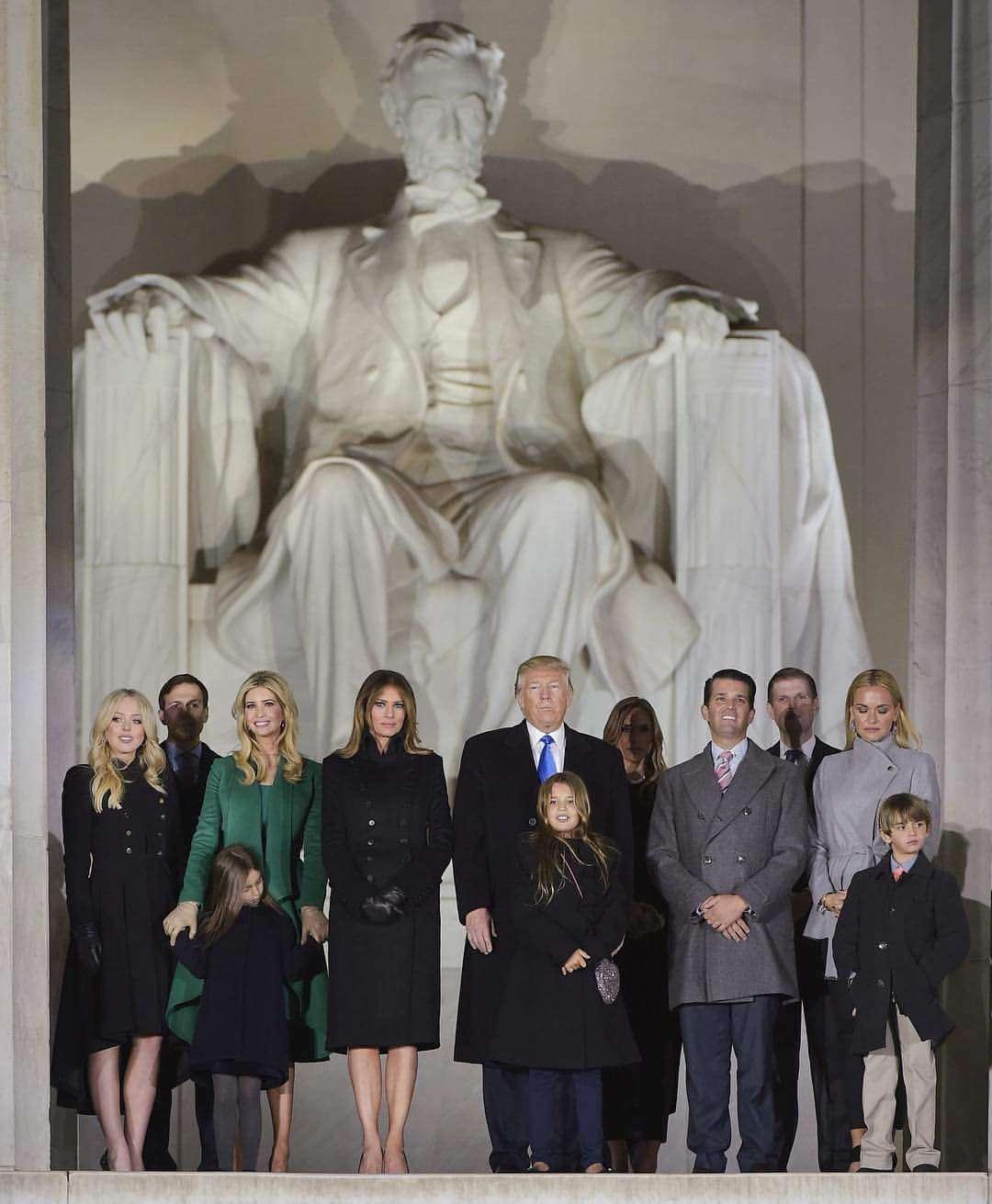 trump familia Lincoln